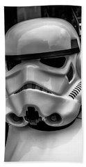 White Stormtrooper Beach Towel