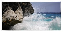 White Water Paradise Beach Towel