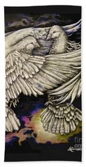 Whites Beach Towel by Linda Simon