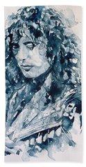 Whole Lotta Love Jimmy Page Beach Sheet