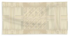 Wicker Quilt Beach Sheet by Kevin McLaughlin