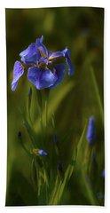 Wild Alaskan Iris Beach Sheet