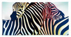 Wild Life  Beach Towel by Mark Ashkenazi