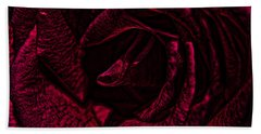 Wild Rose Beach Towel by Kathy Churchman
