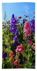 Wildflowers #14 Beach Towel