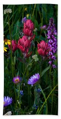 Wildflowers A Bloomin Beach Towel