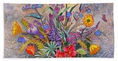 Wildflowers Of Alaska II Beach Sheet