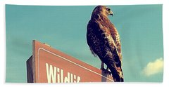 Wildlife Drive Greeter Beach Towel