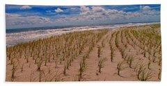 Wildwood Beach Breezes  Beach Sheet by David Dehner
