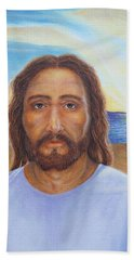Will You Follow Me - Jesus Beach Towel