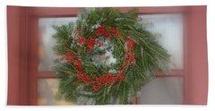 Williamsburg Wreath Beach Sheet
