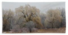 Willow Trees Iced Beach Sheet