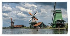 Windmill Trio Beach Towel
