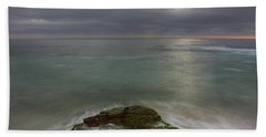 Windnsea Point Sq Beach Towel