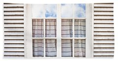 Window Frame Beach Towel by Tom Gowanlock