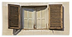 Window Of Tuscany Beach Sheet
