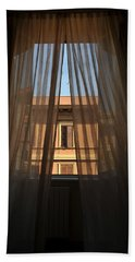 Window On Rome Beach Towel