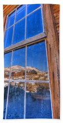 Window To Bodie Beach Towel