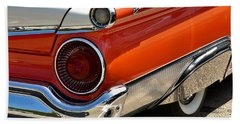 Wing And A Skirt - 1959 Ford Beach Towel