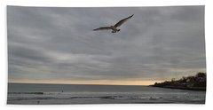 Wings Beach Sheet by Robert Nickologianis