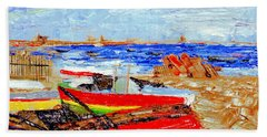 Winter At Provincetown Beach Towel