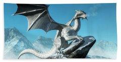 Winter Dragon Beach Sheet