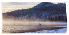 Winter Mist Beach Sheet