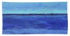 Winter Morning Beach Sheet by Gail Kent
