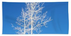 Winter Sky Beach Towel