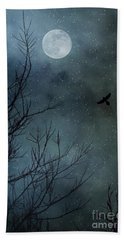 Winter's Silence Beach Towel