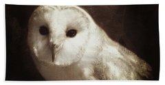Wisdom Of An Owl Beach Towel