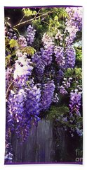 Wisteria Dreaming Beach Towel