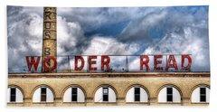 Wonder Bread Factory In Buffalo Ny Beach Towel