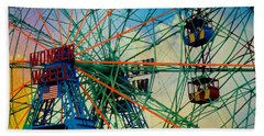 Wonder Wheel Beach Towel