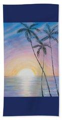 Wonderful Sunrise In Paradise Beach Sheet