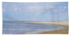 Wonderful World Beach Towel by Kim Hojnacki