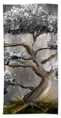 Wonderfully Gray - Shades Of Gray Art Beach Towel