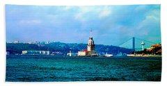 Wonders Of Istanbul Beach Sheet