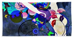 Wondrous Night Beach Towel