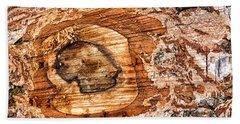 Wood Detail Beach Sheet