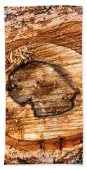 Wood Detail Beach Towel