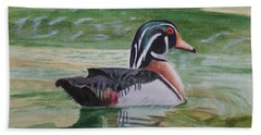 Wood Duck Beach Sheet