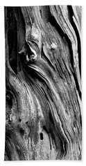 Wood Beach Towel by Shane Holsclaw