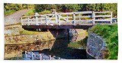 Wooden Bridge Beach Sheet