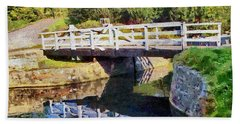 Wooden Bridge Beach Towel