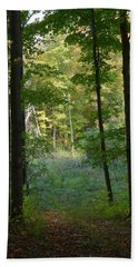Woodland Path Beach Towel