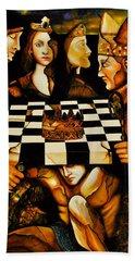 World Chess   Beach Towel