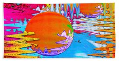 Worlds Apart Beach Sheet