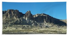 Beach Towel featuring the photograph Western Landscape by Eunice Miller