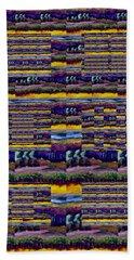 Woven Southwestern Sampler Beach Towel